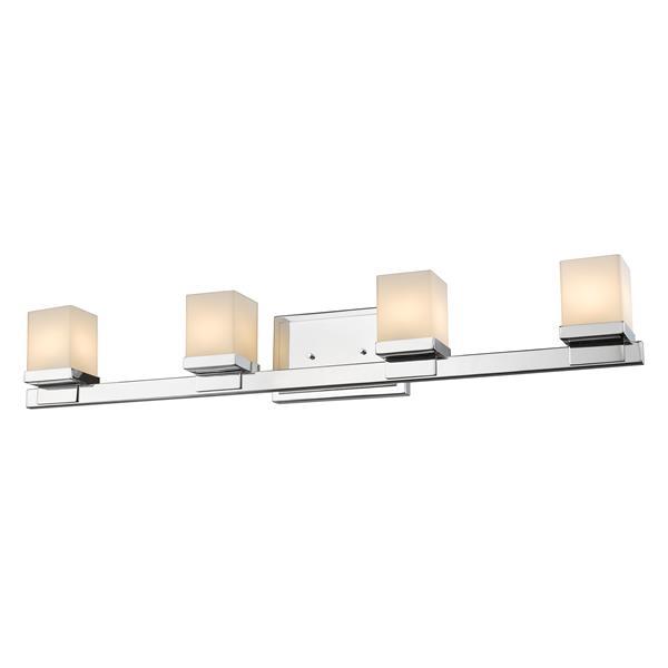 Z-lite Z-Lite Cadiz Bathroom LED Vanity Light - 4-Light - Chrome 1913-4V-CH-LED