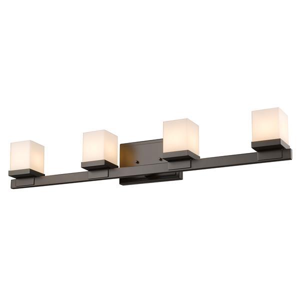 Z-Lite Cadiz Bathroom LED Vanity Light - 4-Light - Bronze