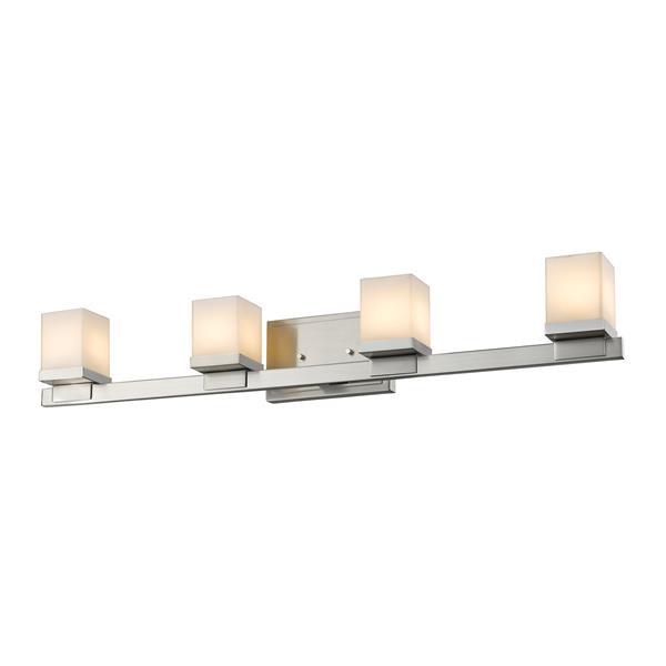 Z-lite Z-Lite Cadiz Bathroom LED Vanity Light - 4-Light - Brushed Nickel 1913-4V-BN-LED