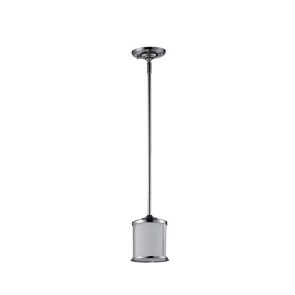 Z-Lite Sonna 1-Light Mini Pendant - 5.5-in - Chrome