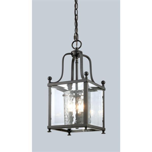 Z-Lite Fairview 3-Light Pendant - 8.25-in - Bronze