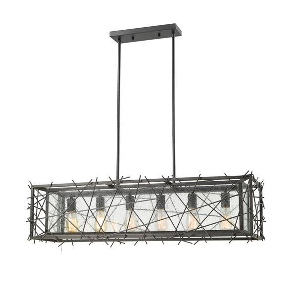 Z-Lite Stanwood 6-light Kitchen Island Light - Bronze
