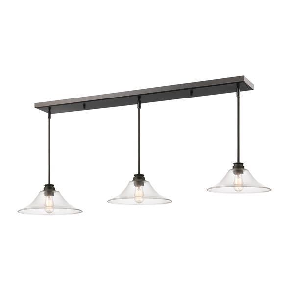 Z-Lite Annora 3-light Kitchen Island Light - Bronze