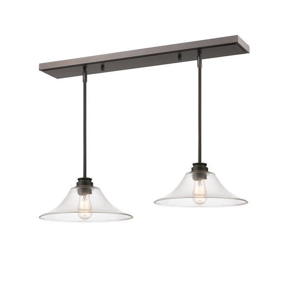 Z-Lite Annora 2-light Kitchen Island Light - Bronze