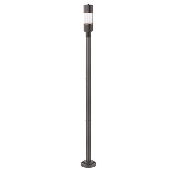 Z-lite Z-Lite Lestat Outdoor Post Light - Mounted Fixture - Deep Bronze 562PHBR-567P-DBZ-LED