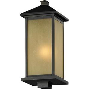 Z-Lite Vienna Outdoor Posthead Light - Oil Rubbed Bronze