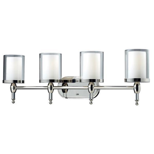 Z-Lite Argenta Bathroom Vanity Light - 4-Light - Chrome