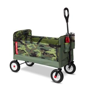 Radio Flyer Kid Fold Wagon - 3-in-1 - Green