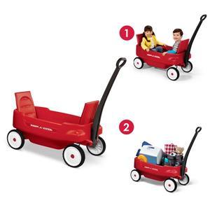 Chariot pour enfant Pathfinder, rouge