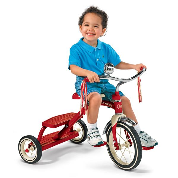 Radio Flyer Classic Red Dual Deck Tricycle - Red