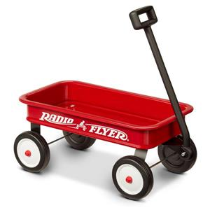 Radio Flyer Kid Wagon - My 1st Wagon - Red