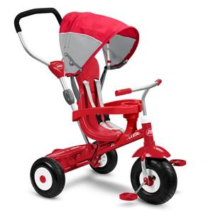 Radio Flyer All-Terrain Stroller/Trike - 4-in-1 - Red