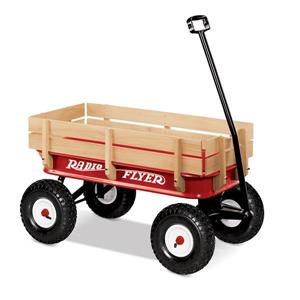 Radio Flyer Wood All-Terrain Wagon - Red