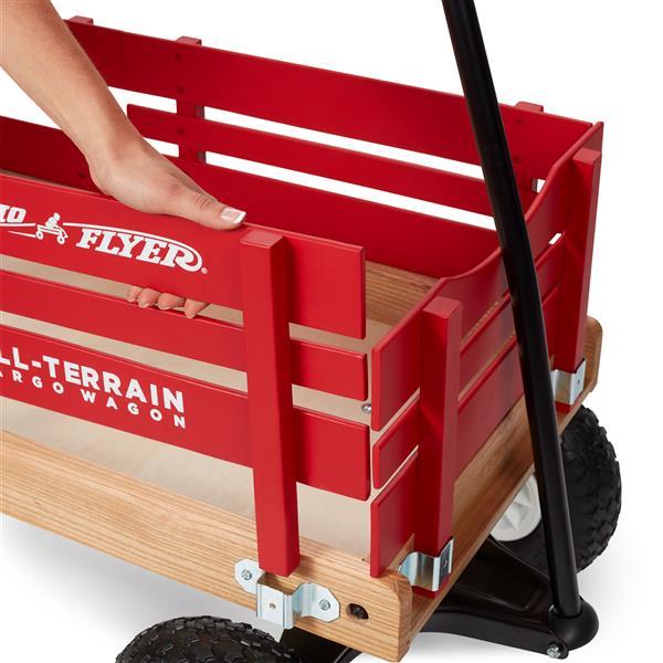 Chariot tout terrain Cargo, rouge