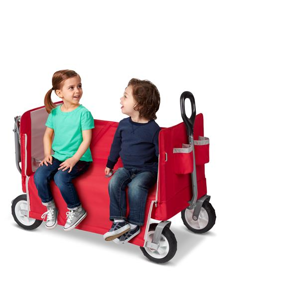 Radio Flyer Tailgater Wagon - 3-in-1 - Red