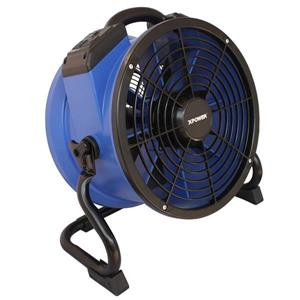 XPOWER Axial Professional High Temperature Fan - 1/4 HP