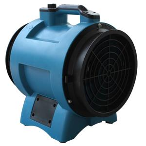 XPOWER Industrial Confined Space Fan - 1/3 HP - 8-in