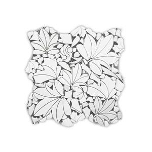 Marble Tile - Maple Leaves - 5/Box - 12
