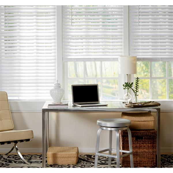 "allen + roth Cordless Horizontal Blind -  2"" x 59.5"" x 72"" - White"