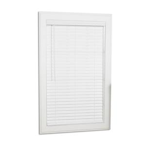 "allen + roth Cordless Horizontal Blind -  2"" x 52.5"" x 64"" - White"