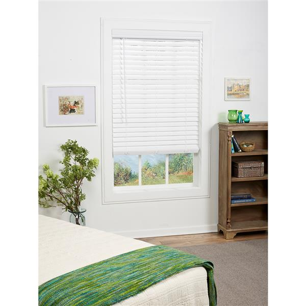 "allen + roth Cordless Horizontal Blind -  2"" x 48.5"" x 64"" - White"