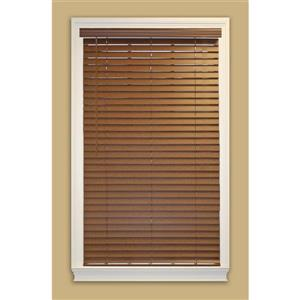 "allen + roth Cordless Horizontal Blind -  2"" x 21.5"" x 64"" - Dark Oak"