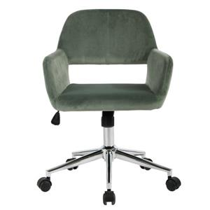 FurnitureR Office Chair - Velvet Cactus