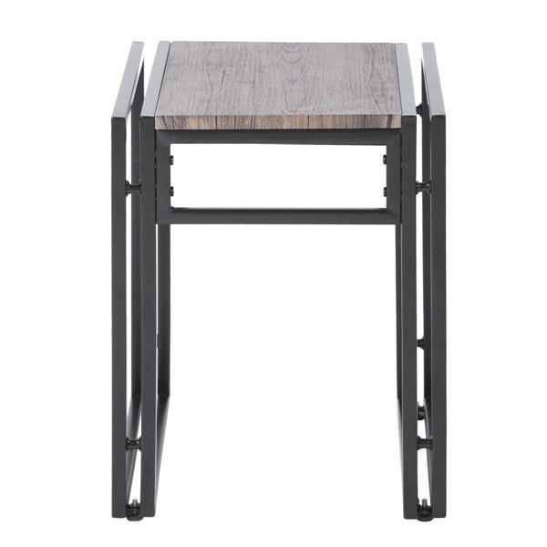 Ensemble de salle à manger, 2 bancs en bois
