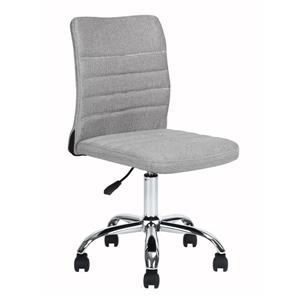 FurnitureR Hertha Adjustable Office Chair - 5 Castors - Grey