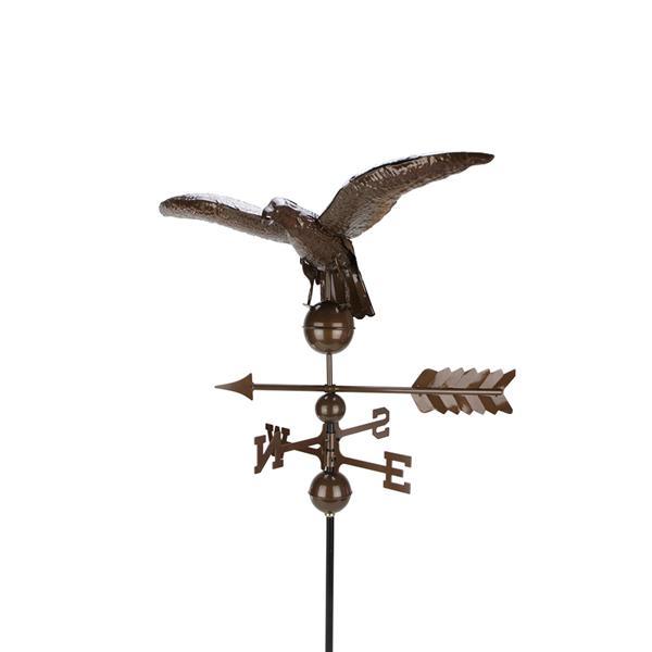 Northlight Eagle Decor Outdoor Weathervane - Chocolate Brown - 3'