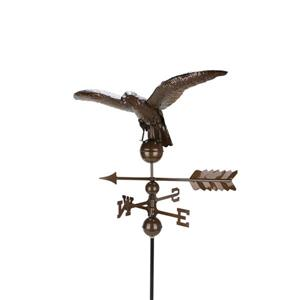 Northlight Eagle Decor Outdoor Weathervane - Chocolate Brown - 3'