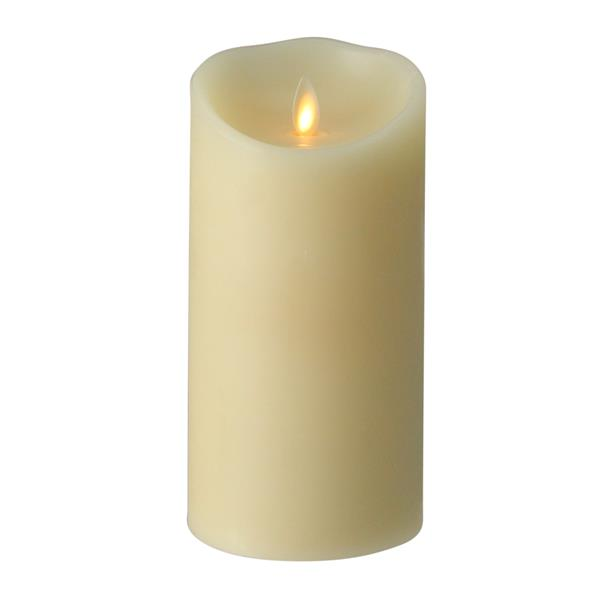 Northlight Ivory Luminara Flameless Vanilla Scented Pillar Candle