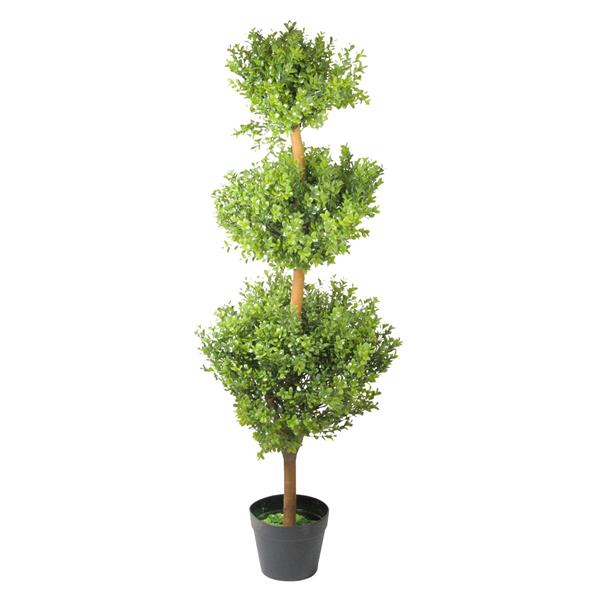 """Northlight Potted Two-Tone Murraya Artificial Topiary - 46.5"""""""