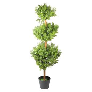 Northlight Potted Two-Tone Murraya Artificial Topiary - 46.5""