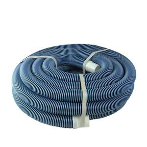 """Northlight Blue Spiral Wound Vacuum Swimming Pool Hose 35' x 1.5"""""""