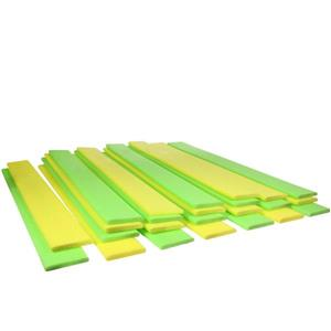 Northlight Yellow and Green Swimming Pool Noodle Boards - Set of 24
