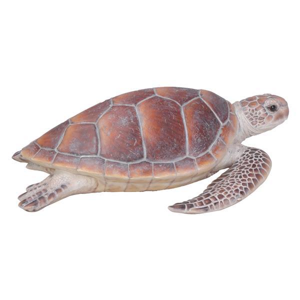 """Statue de jardin, grande tortue marine, 7,87"""""""