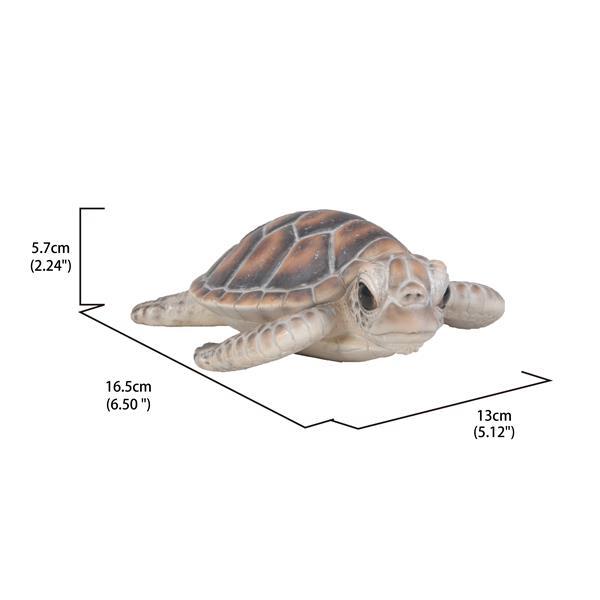 """Hi-Line Gift Decorative Garden Statue - Small Sea Turtle - 2.24"""""""