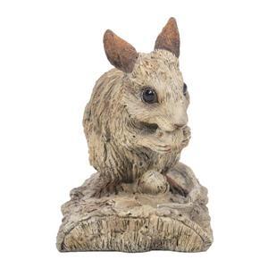 """Statue de jardin, mouse similis bois flottant, 3,58"""""""