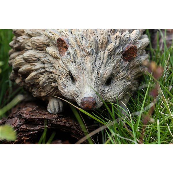 "Hi-Line Gift Decorative Garden Statue - Baby Hedgehog  - 3.27"""