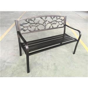 Hi-Line Gift Metal Tree Garden Bench - Bronze - 50""