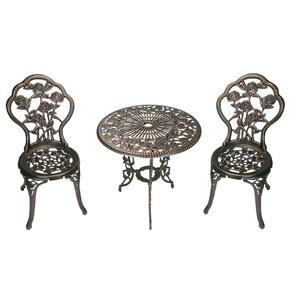 Hi-Line Gift Bistro Set - 3 Pieces - Light Bronze