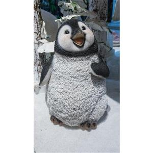 "Statue de jardin, pingouin qui marche, 15"""