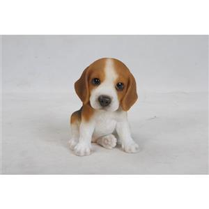 Hi-Line Gift Decorative Garden Statue - Beagle Puppy - 6""