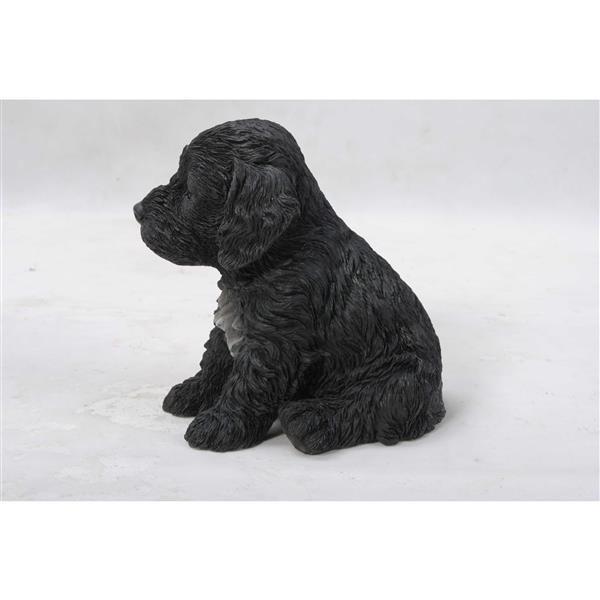 "Hi-Line Gift Decorative Garden Statue - Cockapoo Puppy - 5.75"""