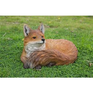 "Hi-Line Gift Decorative Garden Statue - Little Fox - 10.7"""