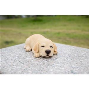"Hi-Line Gift Decorative Garden Statue - Sleeping Labrador Puppy - 2.5"""