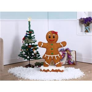 Hi-Line Gift Gingerbread Girl Figurine - 27""