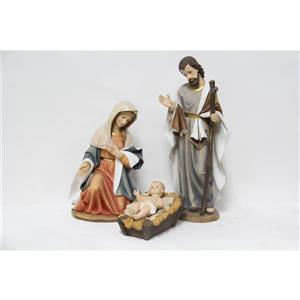 Hi-Line Gift 3-Piece Nativity Set Statue