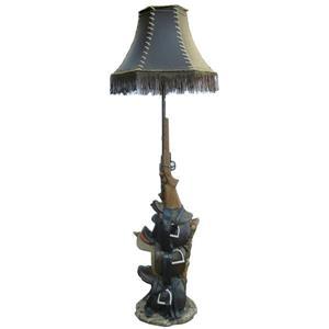 """Lampe sur pied vintage, 65"""""""
